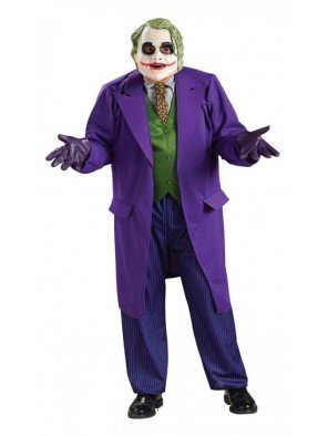 Rubie's Adult's Mens Deluxe The Joker The Dark Knight Costume Size -