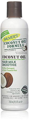 Palmer's Coconut Oil Formula Hair Milk Smoothie for Dry, Damaged or Color Treated Hair, 8.5 oz. (Pack of 2)