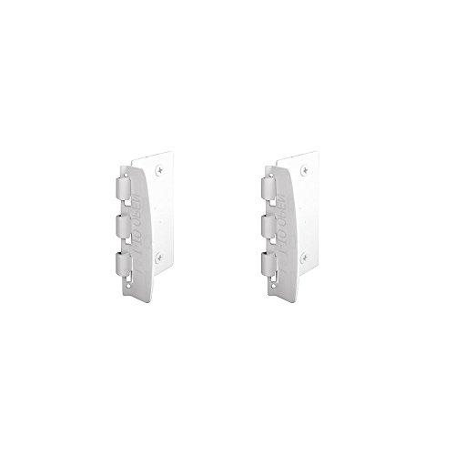 Flip Lock (Door Flip Lock for Child Safety from PrimeLine - White Color (Pack of 2))