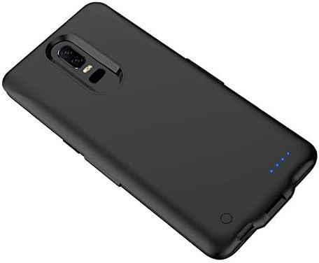 OnePlus 6 OnePlus 6T Funda de batería, Externa 6500mAh batería de Reserva 1 + 6/1 + 6T Cargador de batería Negro: Amazon.es: Electrónica