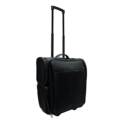 City Lights Studio Pro Deluxe Travel Case on Wheels, Black by City Lights