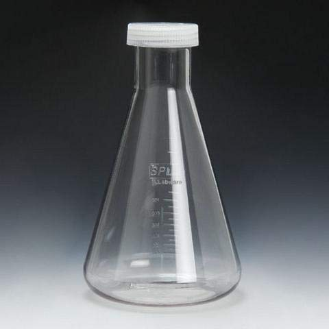 (SPL Erlenmeyer Plastic Flask 1000 ml, Polycarbonate (PC), (Sterile) Set of 4)