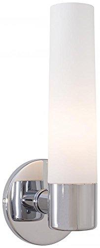 George Kovacs P5041-077, Saber, 1 Light Bath Fixture, Chrome