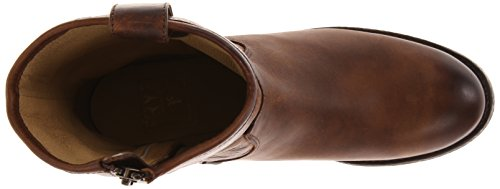 Melissa Dark Ankle 77908 FRYE up Button Brown Washed Boot Short Women's Pull Antique 5WAAS6qO