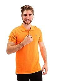 046e91bf6d6d1 Camisa Polo para Hombre Hang Ten Piqué Naranja