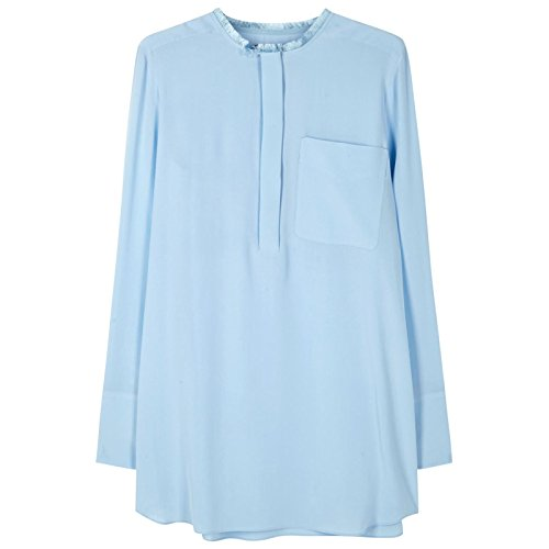 sportmax-by-max-mara-womens-rame-silk-crepe-blouse-sz-10-light-blue