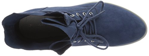 Marco Tozzi Damen 25100 Combat Boots Blau (OCEAN 803)