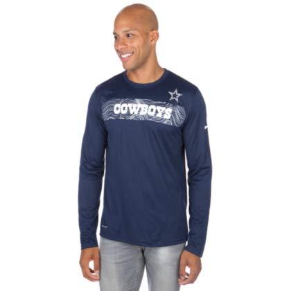 - Dallas Cowboys Nike Sideline Long Sleeve Tee