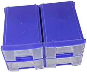 【berryause】 プラスチック工具箱透明工具箱電子部品ネジ収納箱電子プラスチック部品工具箱(透明)