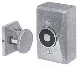 (Edwards 1508-AQN5 Door Holder, Electro-Magnetic, Type: Surface Wall Mounted)