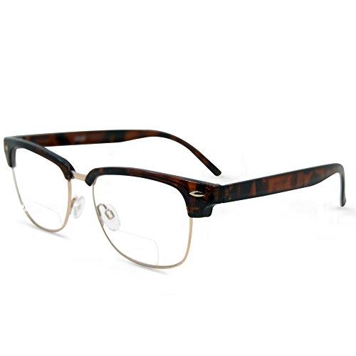 In Style Eyes Sellecks Bifocal Reading Glasses for Both Men & Women/Tortoise - Bifocals Cool