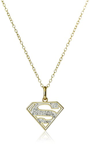 DC Comics 18k Gold Over Sterling Silver Superman