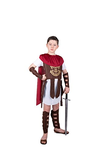 Gladiator Costume Kids, Roman Soldier Centurion, Boys 3-4 Years, 3t 4t Small -