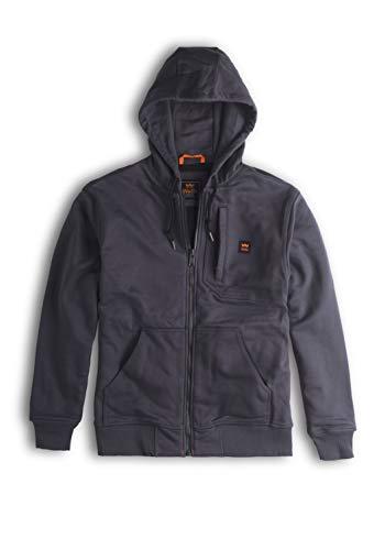 Walls Men's Size Core Full Zip Fleece Hoodie, Graphite, X-Large -