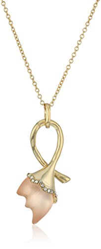 Alexis Bittar Abstract Tulip Pendant Necklace with Lucite, Sunset, One Size ()