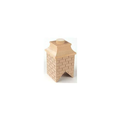 Houseworks, Ltd. Dollhouse Miniature Wood Brick Chimney