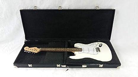 VSCASES - Funda rígida fabricada en Italia, rectangular, de lujo, con sagoma interior para guitarra eléctrica (Telecaster o Stratocaster): Amazon.es: Instrumentos musicales