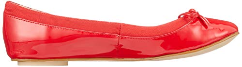 Rojo 000 Annelie Bailarinas red Para Mujer Buffalo nxw6O6