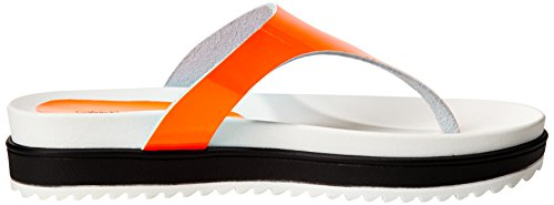 ogf Jeansginevra Patent Calvin Arancione Donna Klein Infradito orange 0f0wE