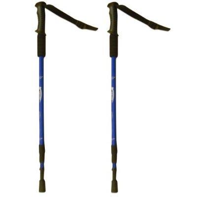 BAFX Products (TM) – 2 Pack – Anti Shock Hiking / Walking / Trekking Trail Poles – 1 Pair, Outdoor Stuffs