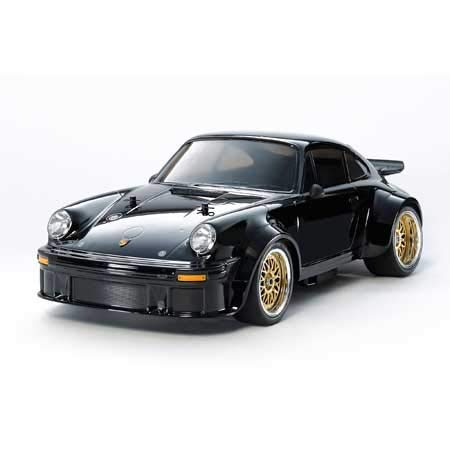 TAMIYA 1/10 SCALE R/C 4WD HIGH PERFORMANCE RACING CAR PORSCHE TURBO RSR TYPE 934 BLACK EDITION (TA02SW CHASSIS) 47362