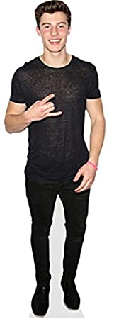 Shawn Mendes (Rockin) Grandeur Nature Celebrity Cutouts