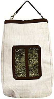 Details about  /Kensington Hay Bag with Wire Rim — Sturdy Plastic Band Makes Loading Hay a Br...