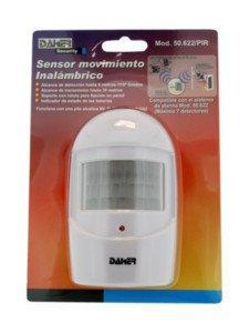 Sensor de Movimiento Inalámbrico Electro DH para alarma 50.622/PIR Electro DH 8430552118830: Amazon.es: Electrónica