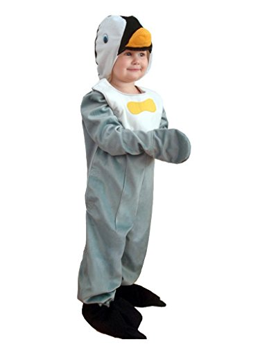 Fantasy World Penguin Halloween Costume f. Children/Boys/Girls, Size: 4t, (Last Minute Homemade Halloween Costume Ideas Adults)