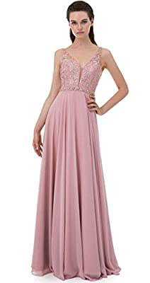 SHANGSHANGXI Luxury Formal Evening Dresses With Crystal Beaded Low Sheer Back Long Prom Party Dress