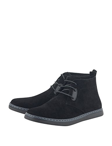 Boots Black Bitter Men's Blue Men's Synthetic amp; Sweet Leather Suede wSw4qva