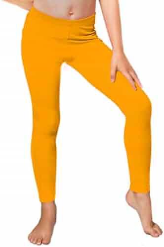 d2a2d9416a4d9 Stretch Is Comfort Girl's Lightweight Supersoft Microfleece Leggings