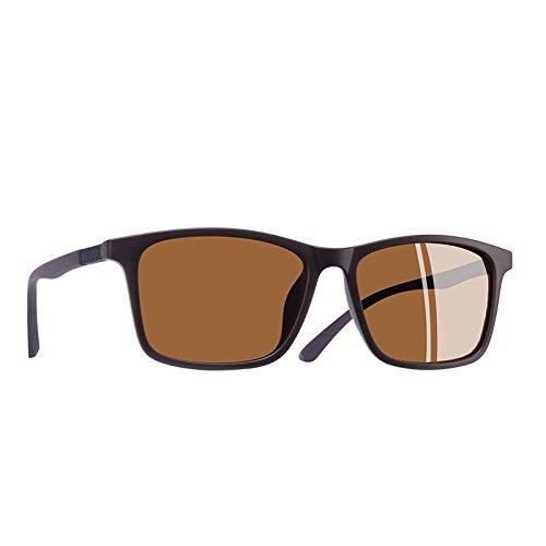 hombres TR90 C2 TIANLIANG04 sol ultraligero C1 Piazza sol de de Guía gafas masculina polarizadas gafas telón UV400 Gafas de wFCRUqCB