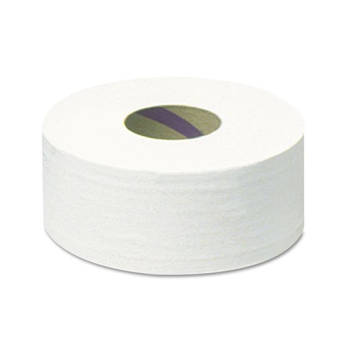 KIMBERLY-CLARK PROFESSIONAL* SCOTT Jumbo Roll Bathroom Tissue, 2-Ply, 12'' dia, 2000 ft - Includes six per case.