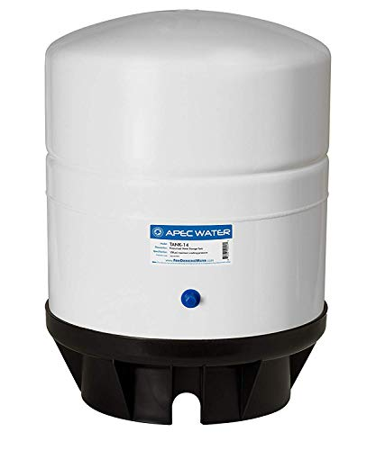 Systems Pressurized - APEC Water Systems TANK-14 14 Gallon Pre-pressurized Reverse Osmosis Water Storage Tank