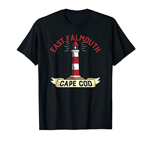 East Falmouth Cape Cod Light House T-Shirt