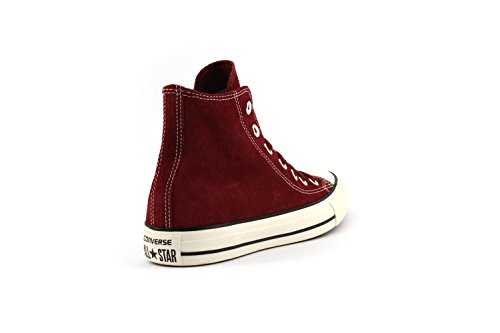 SCARPE UNISEX CONVERSE ALL STAR HI SUEDE 155243C (45 - RED)