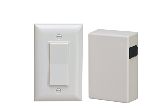 Xodus Innovations HW2175 Wireless Remote Light Control & Plug-In Receiver Outlet Switch For Lamps, Lights And Power Strips 50