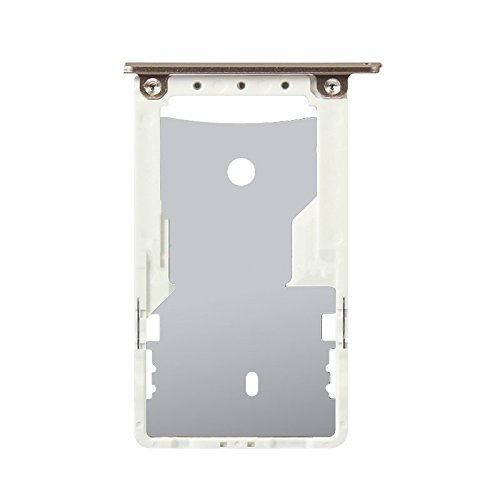 Sim Card Slot Sim Tray Holder Replacement Part for Xiaomi Redmi 3S Prime -  Gold