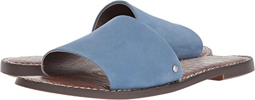 Sam Edelman Women's Gio Slide Sandal, Denim Blue, 9.5 M US