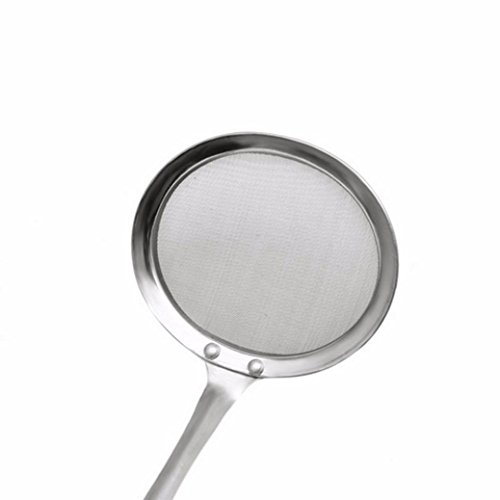 Clearance Sale!DEESEE(TM)Round Network Stainless Steel Colander Spoon Filter Oil Filter Grid Scoop by DEESEE(TM)_Home (Image #3)