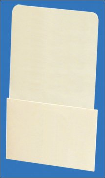 Pocket Chart Books Library (High Back Peel and Stick / Self Adhesive Book Pockets -)