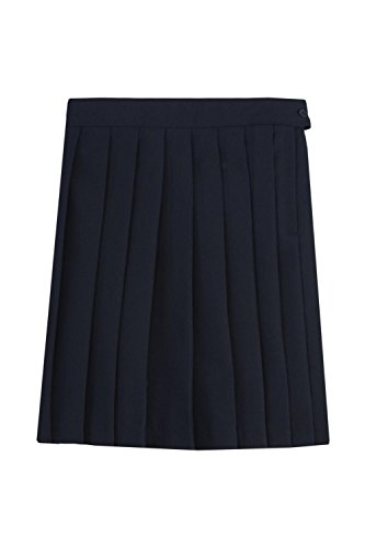 Pleated School Girl Skirt (French Toast Big Girls' Pleated Skirt, Navy, 14)