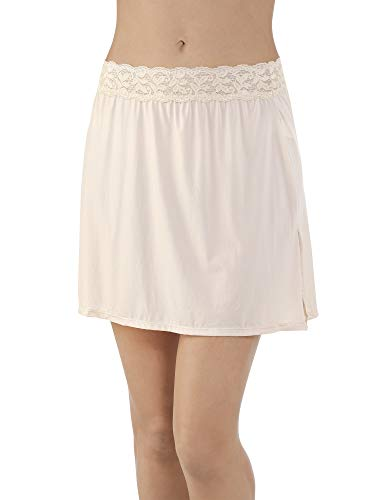 Vanity Fair Women's Plus Size Body Foundation Half Slip 11072, Damask Neutral, Small (16
