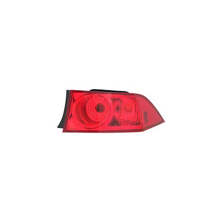 Fits 2006-2008 Acura TSX Rear Tail Light Passenger Side Unit AC2819109 quarter panel mounted - replaces 33501SECA51