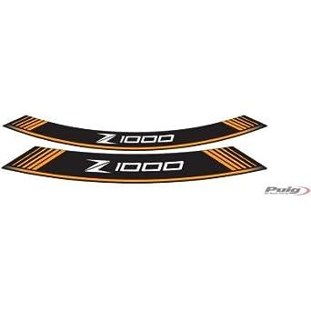 Puig 7590V Rim Strips for Kawasaki Z1000 Green