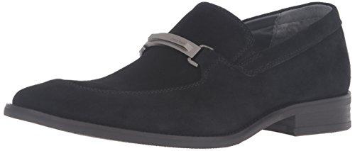 Calvin Klein Men's Rufus Slip-On Loafer, Black, 13 M US (Calvin Klein Black Suede Loafers)