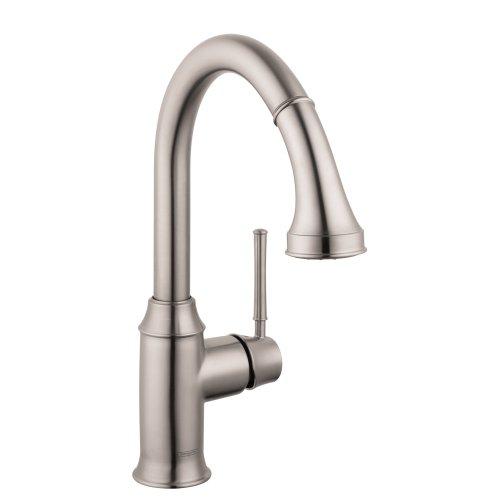 HG Talis C Prep Kitchen Faucet W/Pull Down 2 Spray (Faucet Hansgrohe Spray)