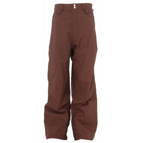 Foursquare Wong Snowboard Pants Bear Rug Men's Sz (Foursquare Mens Pants)
