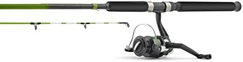 Mudville Nightlife Spinning Combo, 7-Feet x 6-Inch, Multi